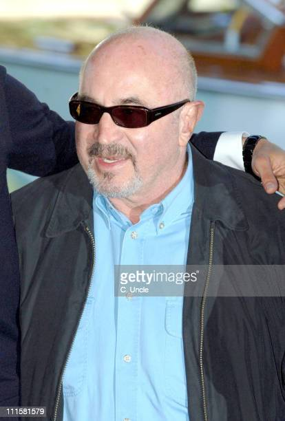 Bob Hoskins during The 63rd International Venice Film Festival 'Hollywoodland' Boat Arrivals at Lido in Venice Italy