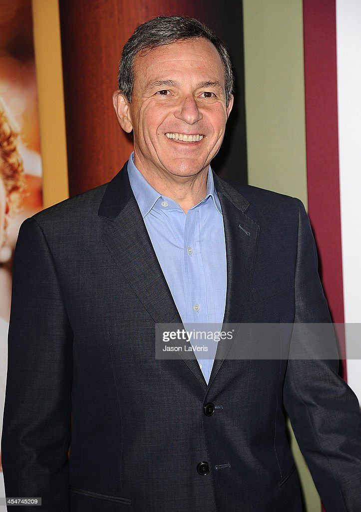 Bob Iger attends the premiere of 'Saving Mr. Banks' at Walt Disney Studios on December 9, 2013 in Burbank, California.