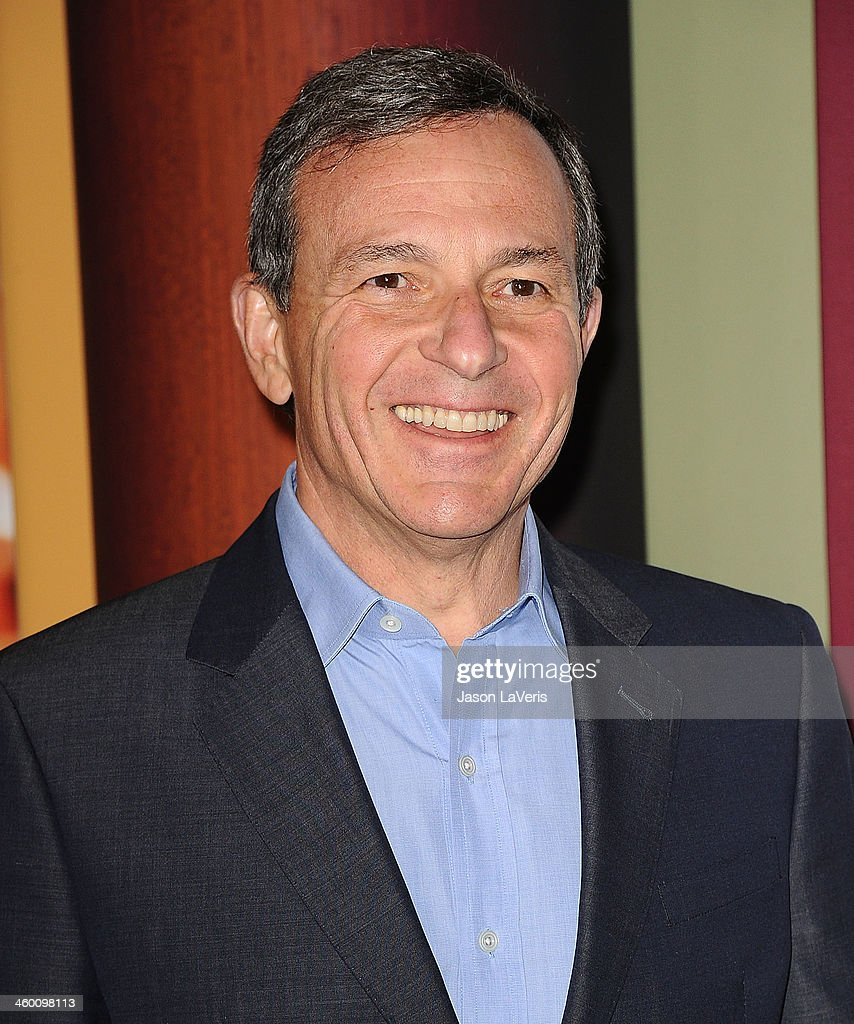 Bob Iger attends the premiere of 'Saving Mr Banks' at Walt Disney Studios on December 9 2013 in Burbank California
