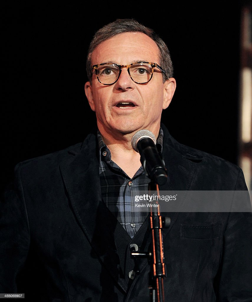 <a gi-track='captionPersonalityLinkClicked' href=/galleries/search?phrase=Bob+Iger&family=editorial&specificpeople=171211 ng-click='$event.stopPropagation()'>Bob Iger</a>, Chairman and CEO, The Walt Disnet Company speaks at a reception to celebrate 90 Years of Disney animation at The Walt Disney Studios on December 10, 2013 in Burbank, California.
