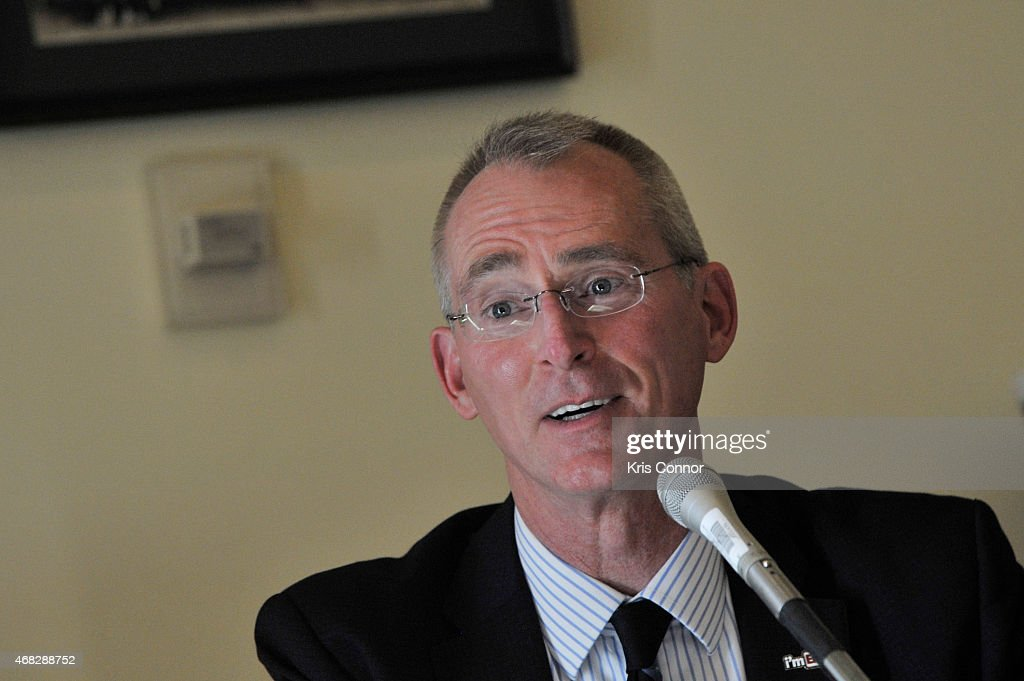 Bob Inglis attends the 'Merchants of Doubt' premiere at Rayburn House Office Building on April 1 2015 in Washington DC