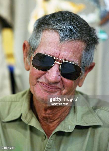 Bob Irwin addresses the media at a press conference held regarding a public memorial for his son at Australia Zoo September 11 2006 in Beerwah...