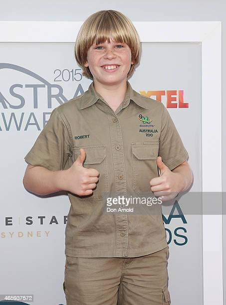 Bob Irwin arrives at the 2015 ASTRA Awards at the Star on March 12 2015 in Sydney Australia