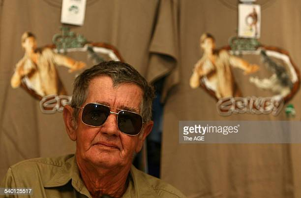 Bob Irwin father of Crocodile Hunter Steve Irwin who was killed by a stingray spoke at a press conference at Australia Zoo on the Sunshine Coast...