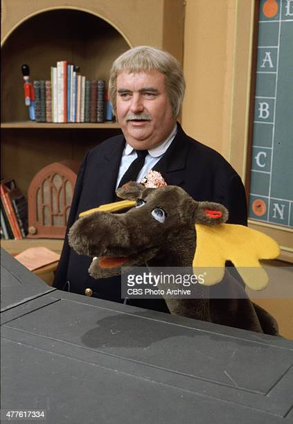 Bob Keeshan as Captain Kangaroo with Mister Moose Image dated 1969