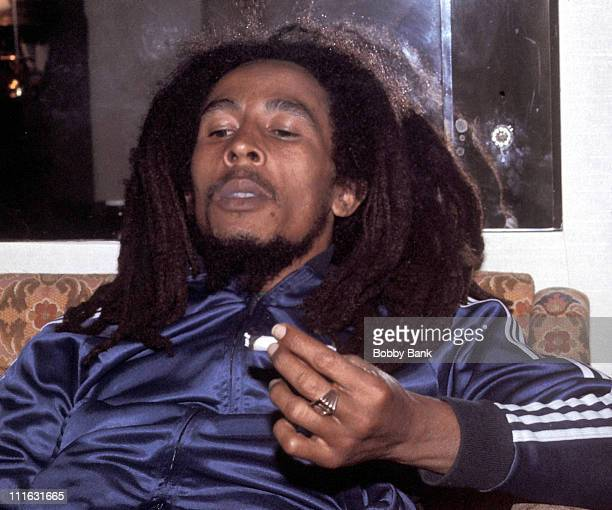 Bob Marley at the Plaza Hotel in New York City 1976