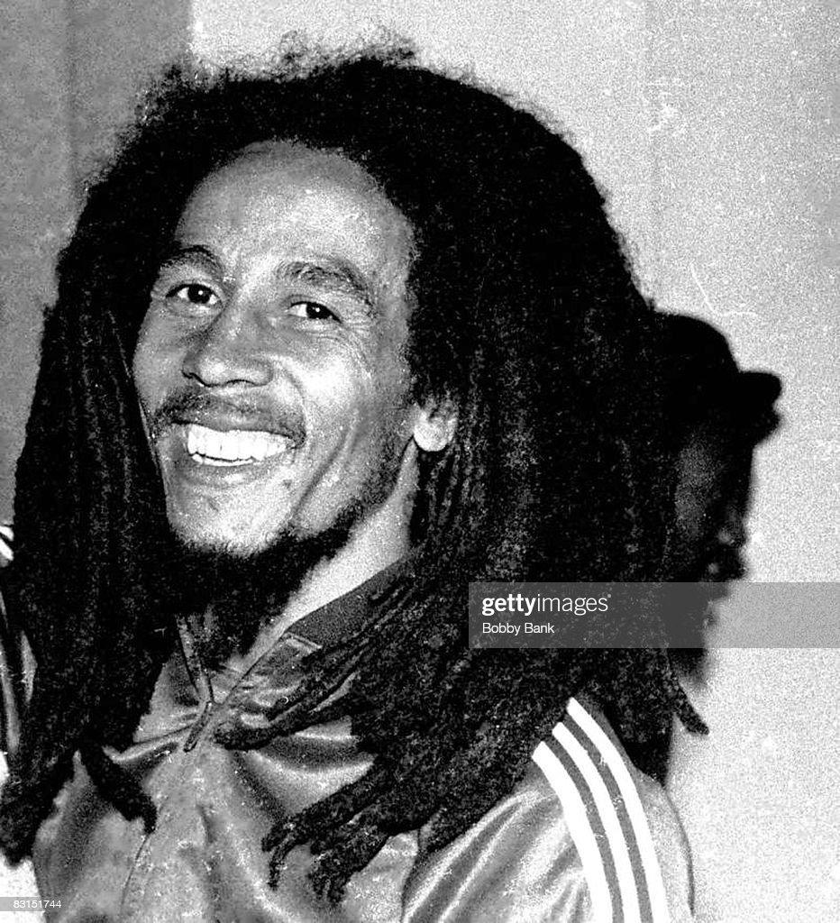 Bob Marley at the Plaza Hotel in New York City, 1976