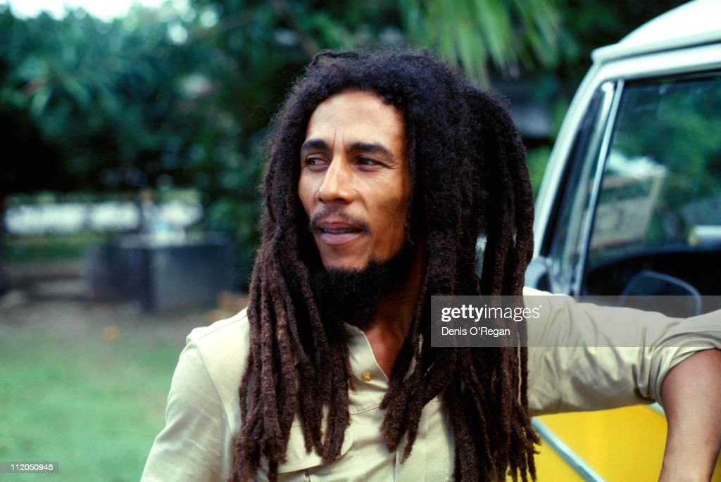 <a gi-track='captionPersonalityLinkClicked' href=/galleries/search?phrase=Bob+Marley+-+Musician&family=editorial&specificpeople=240470 ng-click='$event.stopPropagation()'>Bob Marley</a> (1945 - 1981) in Montego Bay, Jamaica, in 1979, prior to his appearance at the Reggae Sunsplash festival.