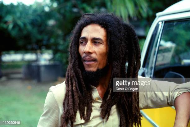 Bob Marley in Montego Bay Jamaica in 1979 prior to his appearance at the Reggae Sunsplash festival