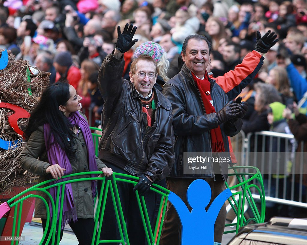 Bob McGrath and the cast of Sesame Street attend the 86th Annual Macy's Thanksgiving Day Parade on November 22, 2012 in New York City.