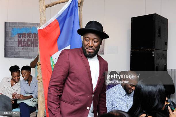 Bob Metelus unveils newest collection Haiti A Collective Cry from a Forgotten Paradise on September 15 2016 in Miami Florida