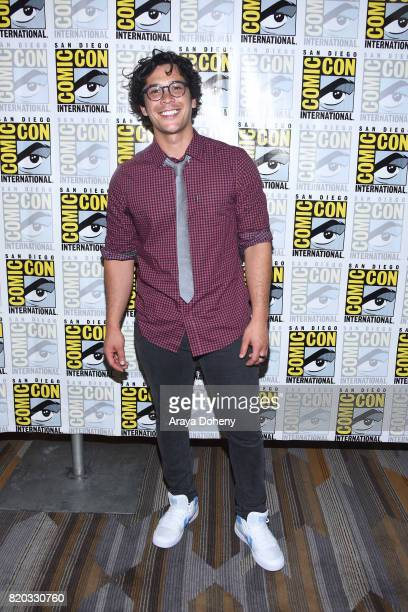 Bob Morley attends The 100 press conference at ComicCon International 2017 on July 21 2017 in San Diego California