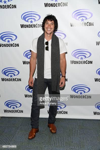 Bob Morley attends The 100 press line at WonderCon Anaheim 2014 Day 2 at Anaheim Convention Center on April 19 2014 in Anaheim California