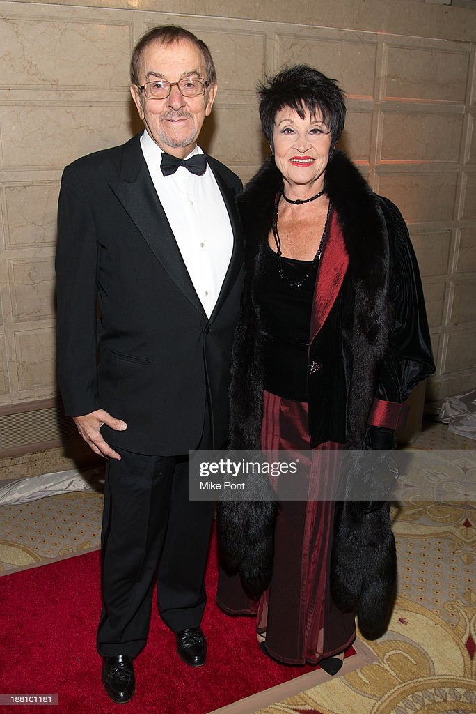 Bob Nahaf and Actress Chita Rivera attend the 20th New York Landmarks Conservancy's Living Landmarks Ceremony at The Plaza Hotel on November 14, 2013 in New York City.