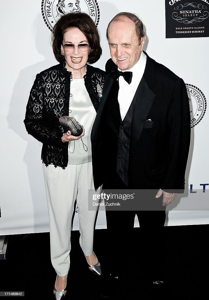 <a gi-track='captionPersonalityLinkClicked' href=/galleries/search?phrase=Bob+Newhart&family=editorial&specificpeople=208111 ng-click='$event.stopPropagation()'>Bob Newhart</a> (R) attends The Friars Foundation 2013 Applause Award Gala honoring Don Rickles at The Waldorf Astoria on June 24, 2013 in New York City.