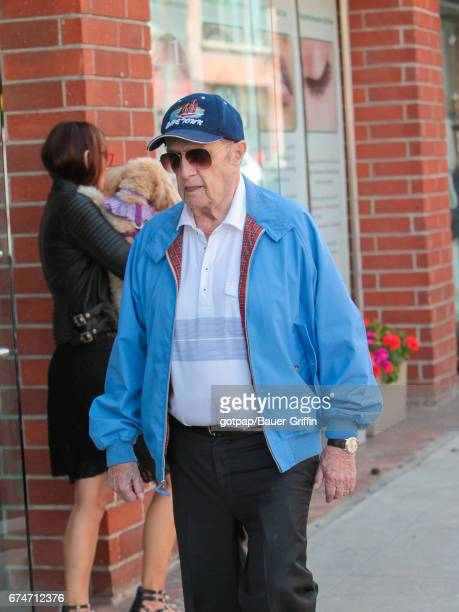 Bob Newhart is seen on April 28 2017 in Los Angeles California