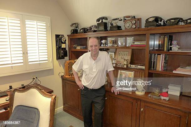 Bob Newhart poses for a portrait in his home office in Los Angeles California on August 14 2013