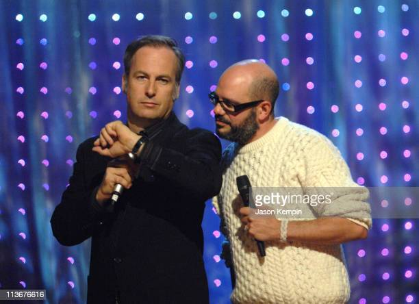 Bob Odenkirk and David Cross during Comedy Central Presents 'A Night of Too Many Stars An Overbooked Benefit for Autism Education' Show at The Beacon...