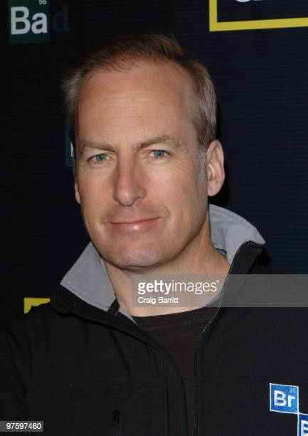 Bob Odenkirk arrives at the 'Breaking Bad' Season Three Premiere at ArcLight Cinemas on March 9 2010 in Hollywood California