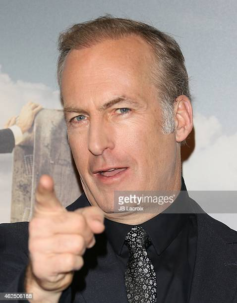Bob Odenkirk attends the 'Better Call Saul' Los Angeles Series Premiere Screening held at Regal Cinemas LA Live on January 29 2015 in Los Angeles...