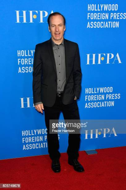 Bob Odenkirk attends the Hollywood Foreign Press Association's Grants Banquet at the Beverly Wilshire Four Seasons Hotel on August 2 2017 in Beverly...