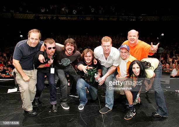 Bob Odenkirk Jesse 'Devil' Hughes Dave Grohl Jack Black Josh Homme David Cross Kyle Gass and Sarah Silverman