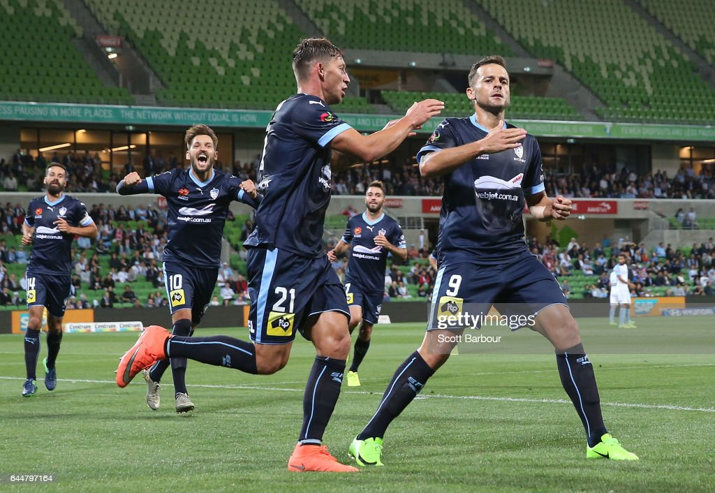 A-League Rd 21 - Melbourne v Sydney
