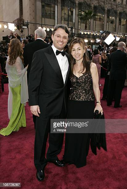 Bob Osher of Sony and wife Ann during The 77th Annual Academy Awards Executive Arrivals at Kodak Theatre in Hollywood California United States
