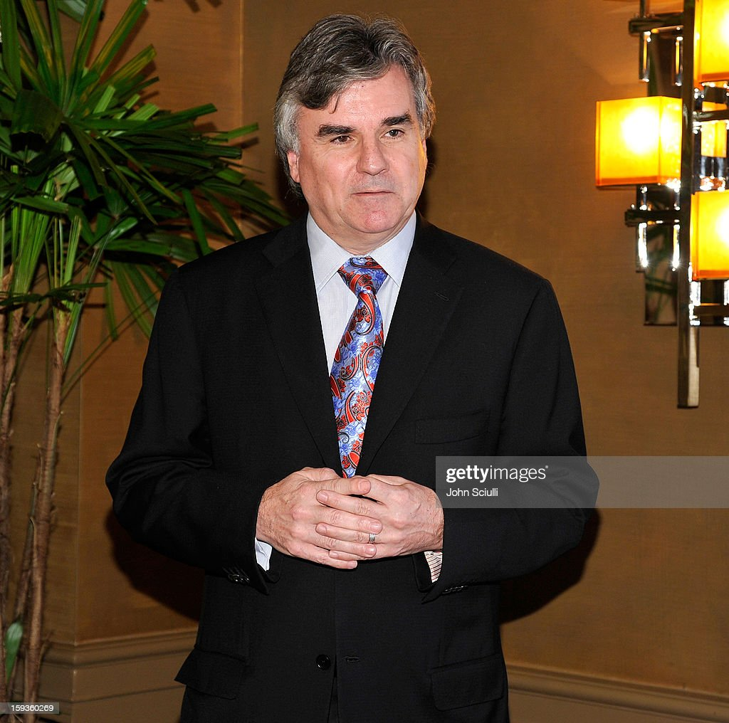 Bob Peirce attends a Golden Globe lunch hosted by BritWeek chairman Bob Peirce honoring Julian Fellowes, Gareth Neame and Michelle Dockery at Four Seasons Hotel Los Angeles at Beverly Hills on January 12, 2013 in Beverly Hills, California.