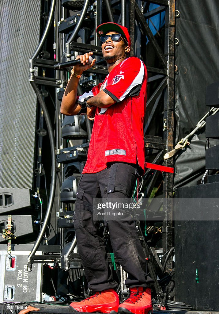 BoB performs during the 2014 Music Midtown Festival at Piedmont Park on September 20 2014 in Atlanta Georgia