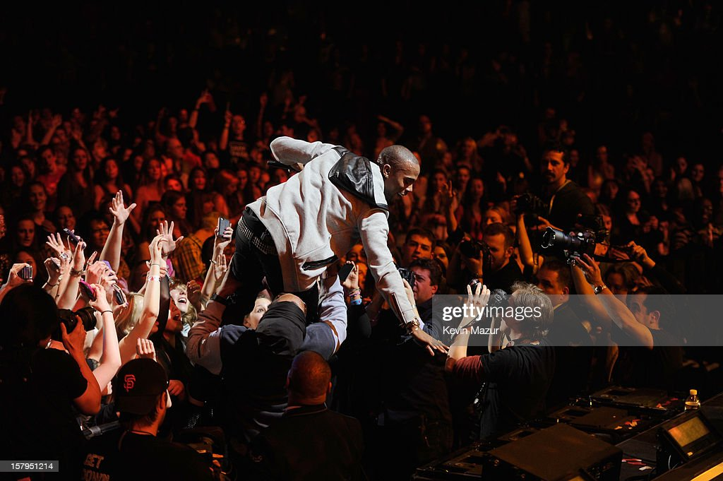 B.o.B. performs onstage during Z100's Jingle Ball 2012, presented by Aeropostale, at Madison Square Garden on December 7, 2012 in New York City.