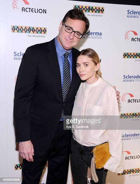 Bob Saget and Ashley Olsen attend Cool Comedy Hot Cuisine A Benefit For The Scleroderma Research Foundation at Caroline's On Broadway on December 2...