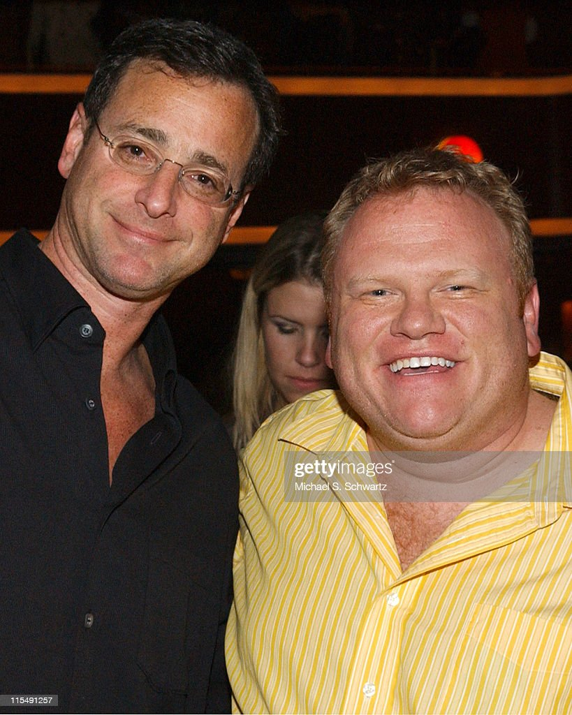 <a gi-track='captionPersonalityLinkClicked' href=/galleries/search?phrase=Bob+Saget&family=editorial&specificpeople=209388 ng-click='$event.stopPropagation()'>Bob Saget</a> and Larry Campbell during Freddy Soto Benefit at the Laugh Factory Starring Dane Cook - November 16, 2005 at The Laugh Factory in West Hollywood, California, United States.