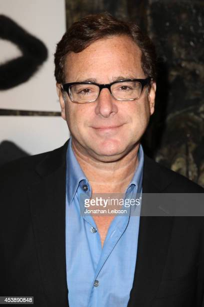 Bob Saget attends Cassandra Huysentruyt Grey Hosts Artist In Residence Donald Robertson Tt VIOLET GREY Melrose Place on August 20 2014 in Los Angeles...
