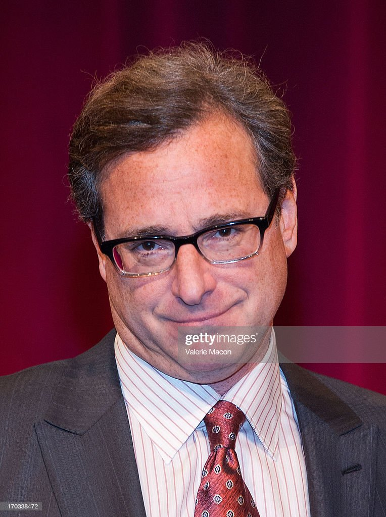 Bob Saget attends The Academy Of Motion Picture Arts And Sciences' 40th Annual Student Academy Awards Ceremony at AMPAS Samuel Goldwyn Theater on...