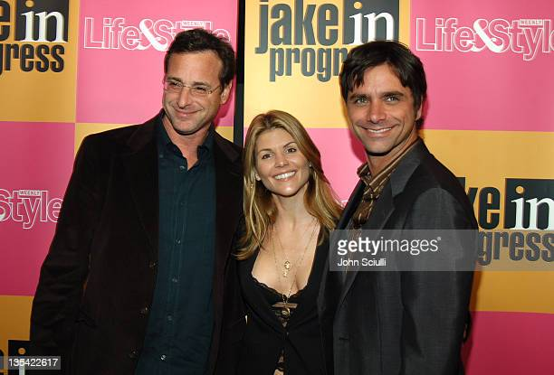 Bob Saget Lori Loughlin and John Stamos during 'Jake in Progress' Second Season Premiere Viewing Party at The Belmont in Los Angeles California...