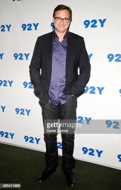 Bob Saget promotes his book 'Dirty Daddy The Chronicles of a Family Man Turned Filthy Comedian' at the 92nd Street Y on April 8 2014 in New York City