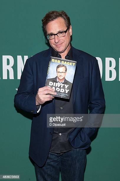Bob Saget visits Barnes Noble Union Square on April 9 2014 in New York City