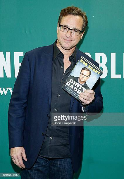 Bob Saget visits Bob Saget in Conversation With Seth Herzog at Barnes Noble Union Square on April 9 2014 in New York City