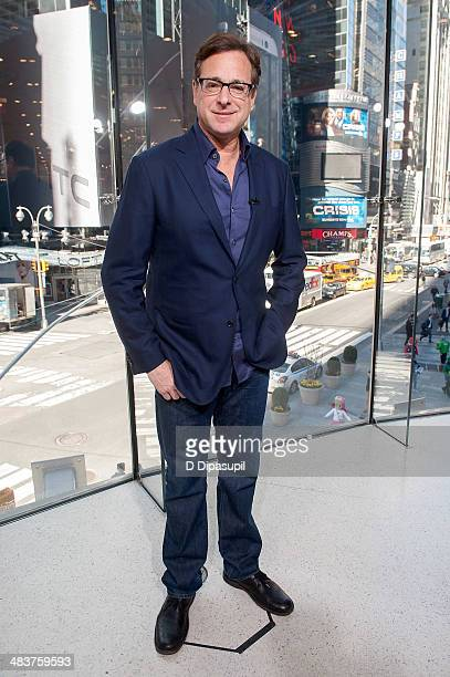 Bob Saget visits 'Extra' at their New York studios at HM in Times Square on April 10 2014 in New York City
