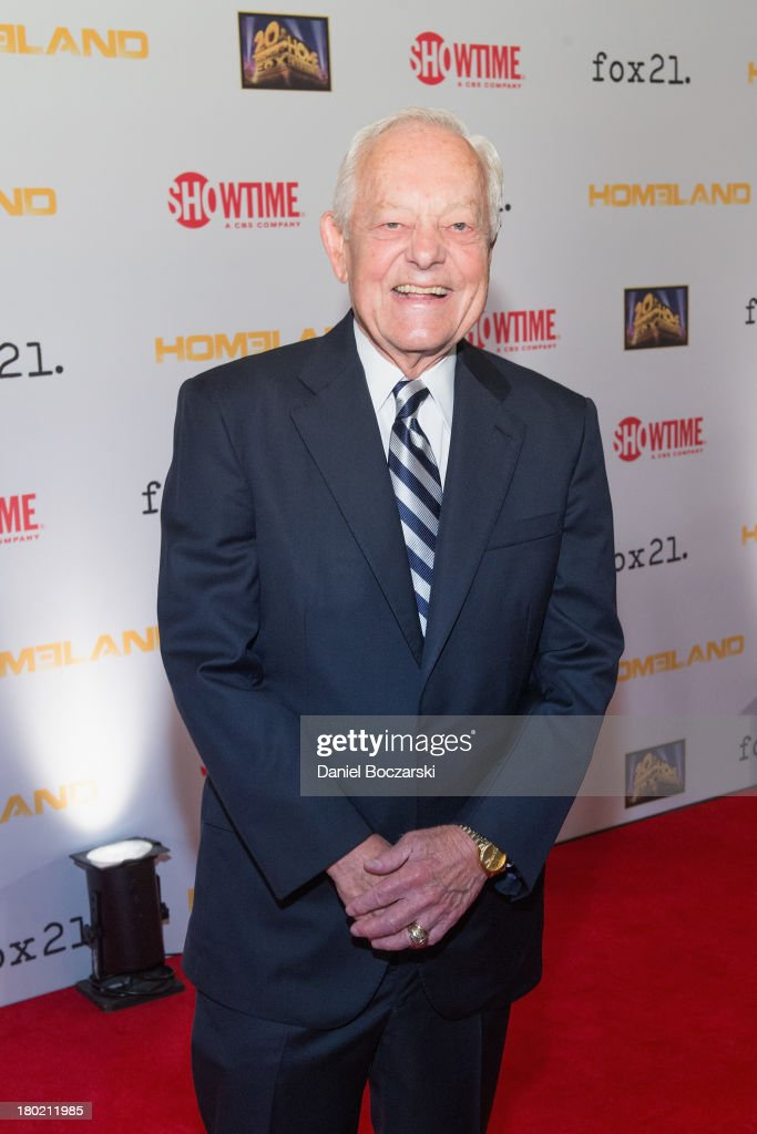 <a gi-track='captionPersonalityLinkClicked' href=/galleries/search?phrase=Bob+Schieffer&family=editorial&specificpeople=2129374 ng-click='$event.stopPropagation()'>Bob Schieffer</a> attends a premiere screening hosted by SHOWTIME and Fox 21 for Season 3 of the hit series 'Homeland' at Corcoran Gallery of Art on September 9, 2013 in Washington City.