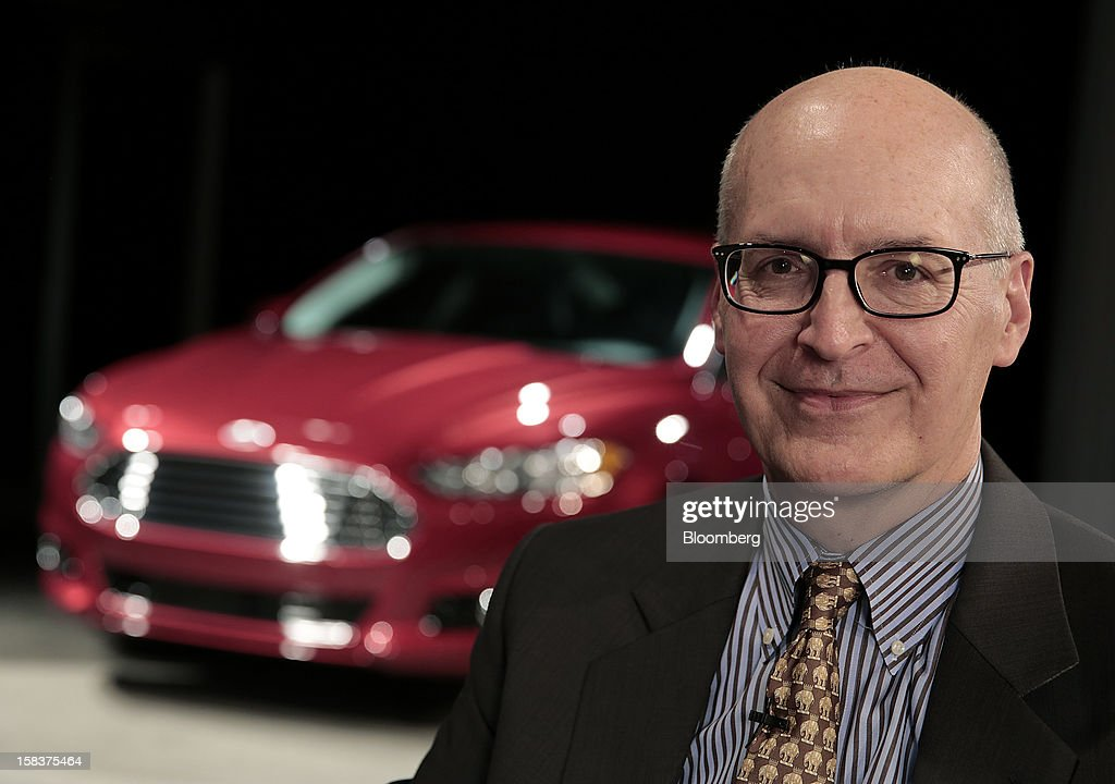 Bob Shanks, executive vice president and chief financial officer of Ford Motor Co., sits for a photograph during an interview in Detroit, Michigan, U.S., on Friday, Dec. 14, 2012. Ford Motor Co. is talking to the U.S. Environmental Protection Agency about how it tests fuel economy performance on new vehicles following reports that the automaker's hybrids are falling short of mileage promises. Photographer: Jeff Kowalsky/Bloomberg via Getty Images