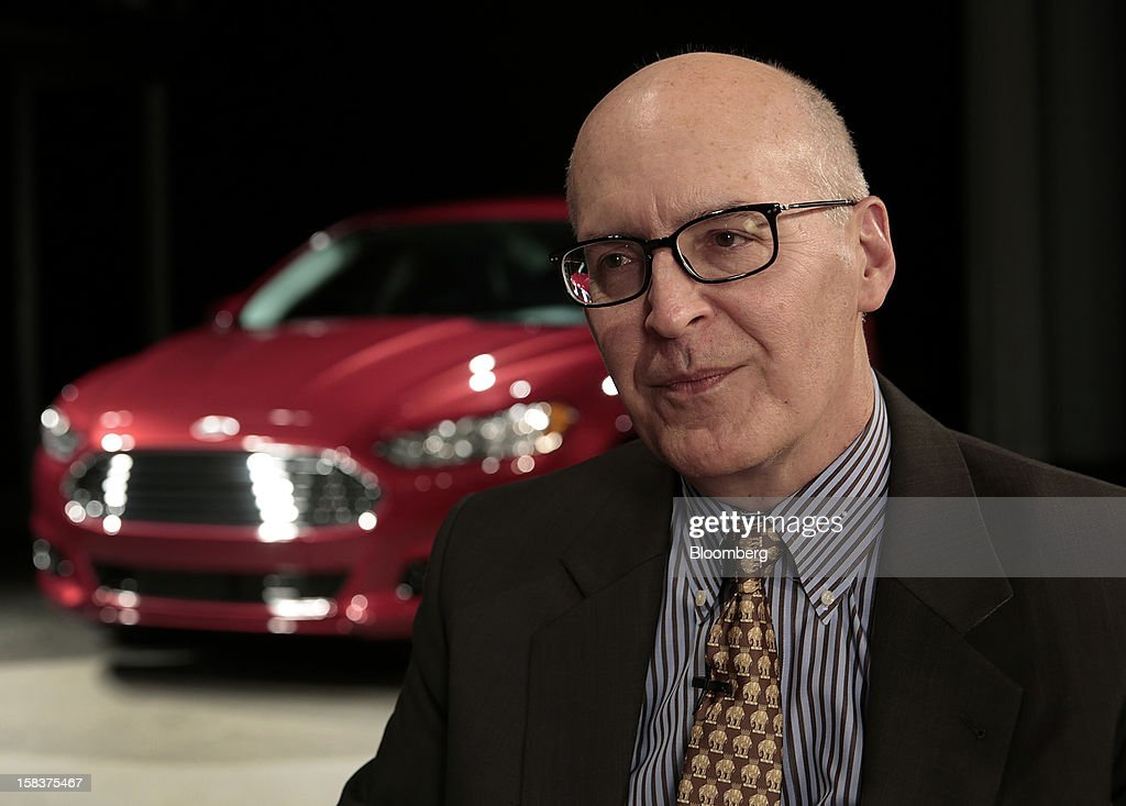 Bob Shanks, executive vice president and chief financial officer of Ford Motor Co., speaks during an interview in Detroit, Michigan, U.S., on Friday, Dec. 14, 2012. Ford Motor Co. is talking to the U.S. Environmental Protection Agency about how it tests fuel economy performance on new vehicles following reports that the automaker's hybrids are falling short of mileage promises. Photographer: Jeff Kowalsky/Bloomberg via Getty Images