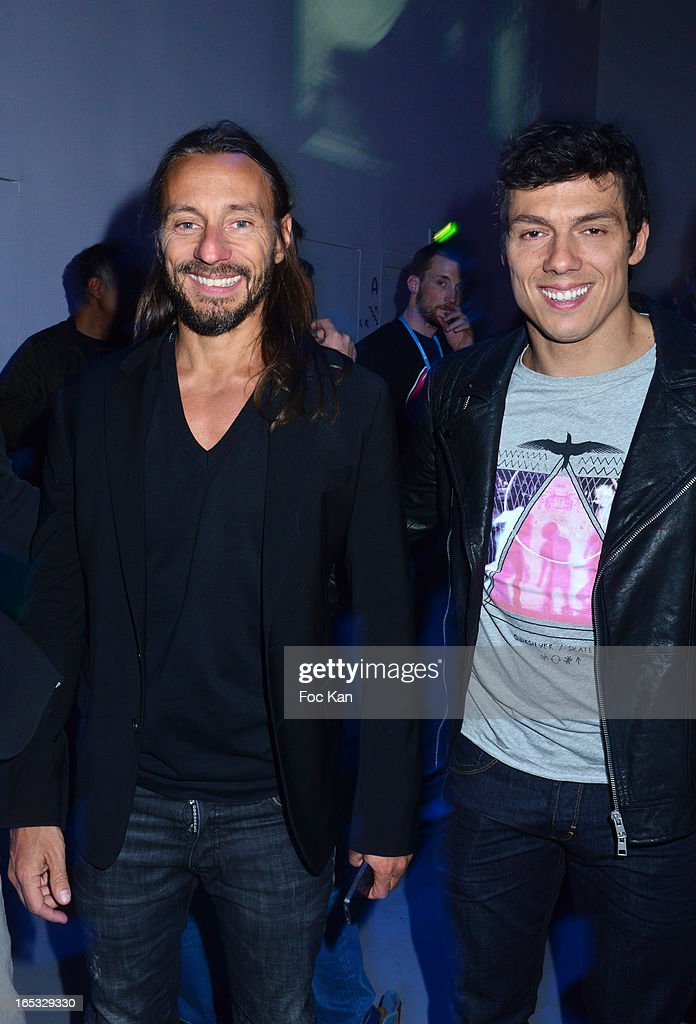 <a gi-track='captionPersonalityLinkClicked' href=/galleries/search?phrase=Bob+Sinclar&family=editorial&specificpeople=2076892 ng-click='$event.stopPropagation()'>Bob Sinclar</a> and <a gi-track='captionPersonalityLinkClicked' href=/galleries/search?phrase=Taig+Khris&family=editorial&specificpeople=214816 ng-click='$event.stopPropagation()'>Taig Khris</a> attend the 'Paris By Night' <a gi-track='captionPersonalityLinkClicked' href=/galleries/search?phrase=Bob+Sinclar&family=editorial&specificpeople=2076892 ng-click='$event.stopPropagation()'>Bob Sinclar</a> CD Launch Concert Party At La Gaite Lyrique on April 2, 2013 in Paris, France.