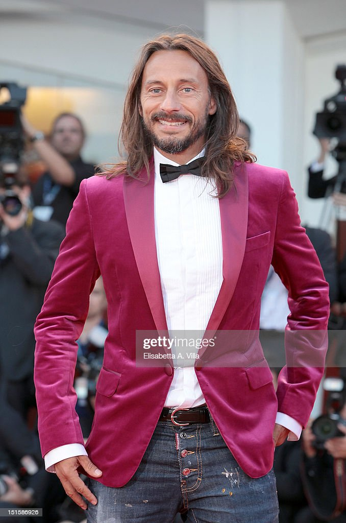 Bob Sinclar attends the Award Ceremony And 'L'Homme Qui Rit' Premiere during The 69th Venice Film Festival at the Palazzo del Cinema on September 8, 2012 in Venice, Italy.
