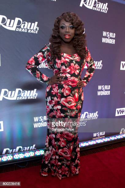 Bob The Drag Queen attends 'RuPaul's Drag Race' Season 9 Finale Viewing Party at Stage 48 on June 23 2017 in New York City