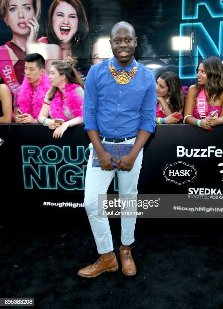 Bob the Drag Queen attends the 'Rough Night' New York Premiere on June 12 2017 in New York City