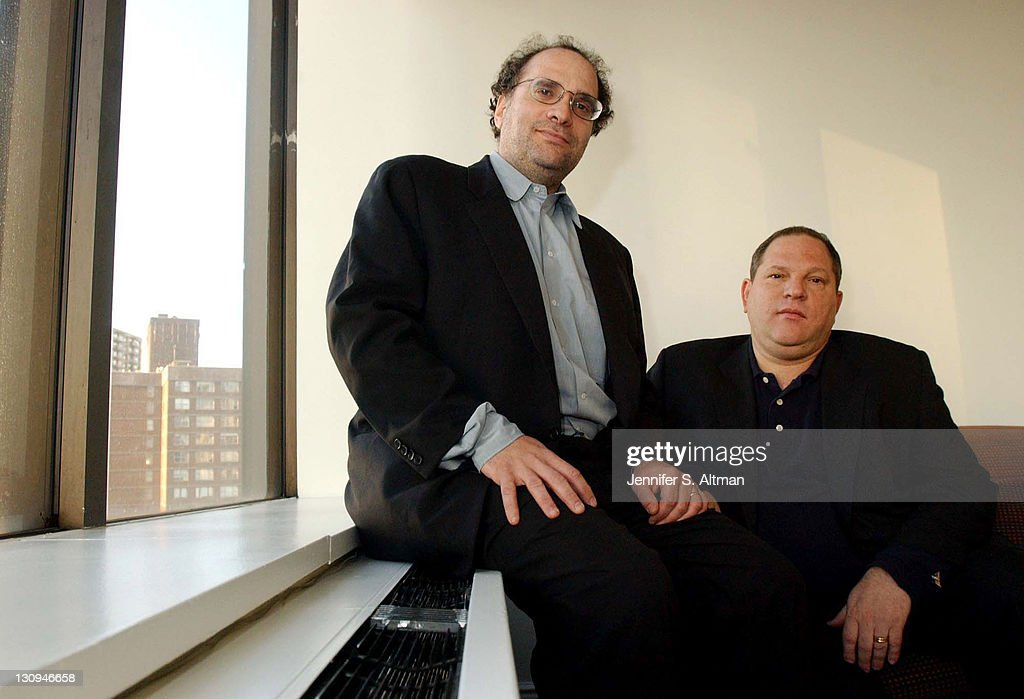 Bob Weinstein and Harvey Weinstein Portrait Shoot