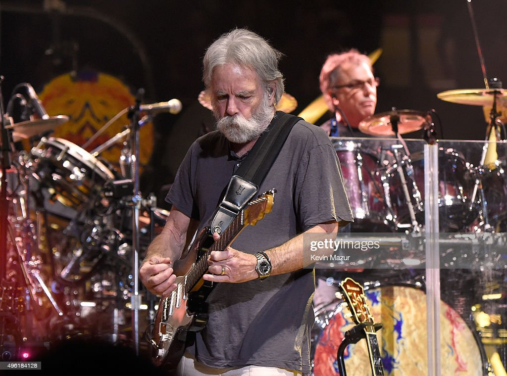 Bob Weir of Dead & Company performs at American Express Presents: AMEX UNSTAGED Featuring Dead & Company Directed By Brett Ratner at Madison Square Garden on November 7, 2015 in New York City.