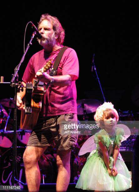 Bob Weir of The Dead daughter during 2003 Bonnaroo Music Festival Night Three at Bonnaroo Fairgrounds in Manchester Tennessee United States